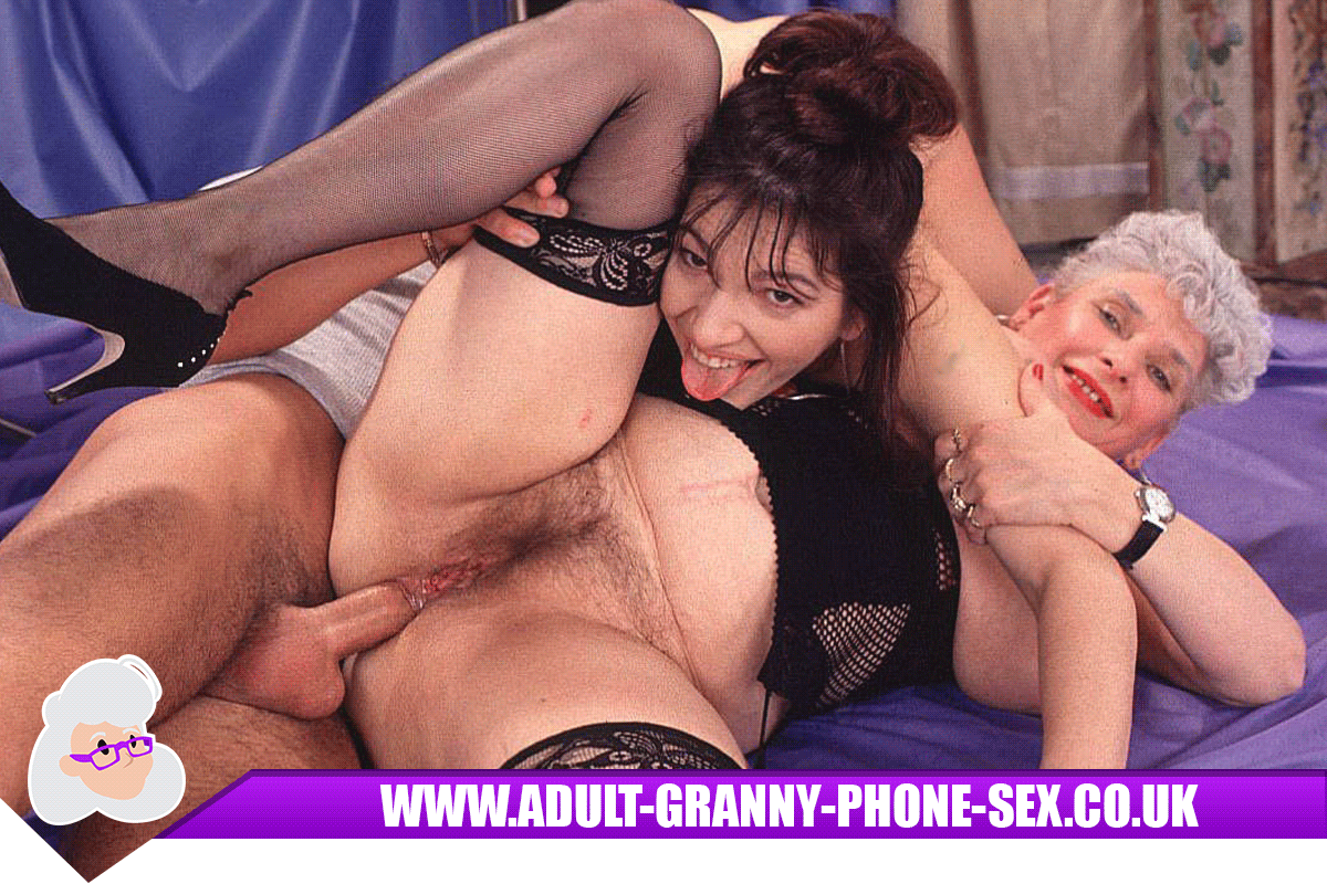 Threesome Granny Phone Sex